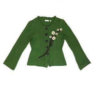 Sleeping On Snow Wildflower Cardigan Sweater